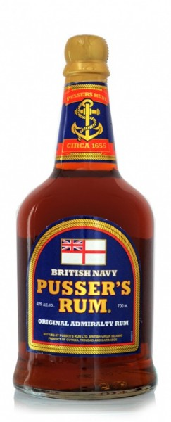 Pusser's British Navy Rum Blue Label