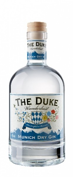 The Duke Wanderlust Gin Miniatur