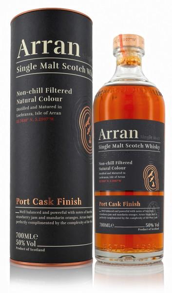 Arran Single Malt Whisky Port Cask Finish