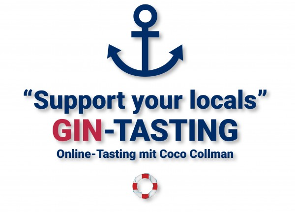"Gin-Online-Tasting ""Support your locals"""