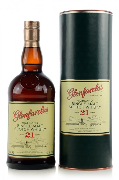 Glenfarclas Single Malt Whisky 21 Jahre