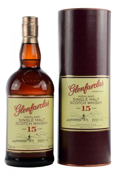 Glenfarclas Single Malt Whisky 15 Jahre