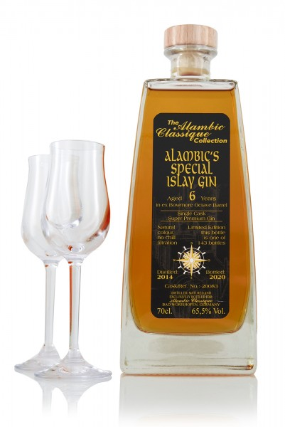 Alambic´s Special Islay Gin Bowmore Octave Barrel