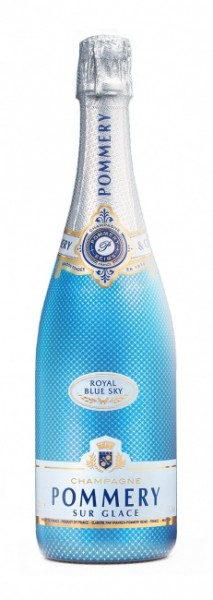 Pommery Champagner Royal Blue Sky