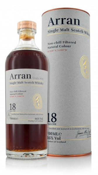 Arran Single Malt Whisky 18 Jahre