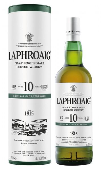 Laphroaig 10 Jahre Cask Strength Batch 12