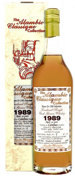Cambus 32 Jahre 1989 The Alambic Classic Collection