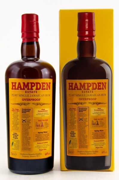Hampden Overproof Pure Single Jamaican Rum