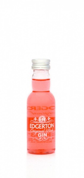 Edgerton Original Pink Gin Miniatur