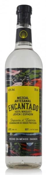 Los Danzantes Mezcal Encantado Artesanal Maguey Espadin