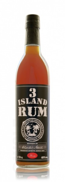 3 Island Blended Rum Black