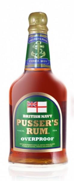Pusser's British Navy Rum Overproof