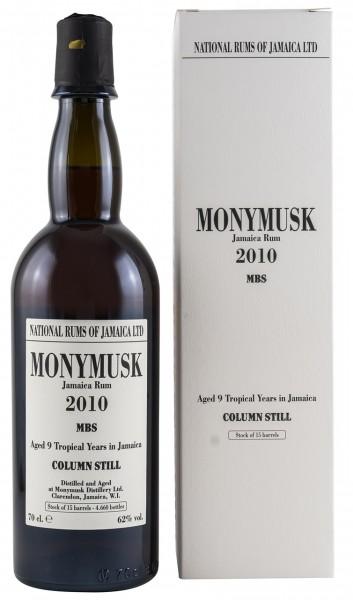 Monymusk Jamaica Pure Single Rum 2010 MBS