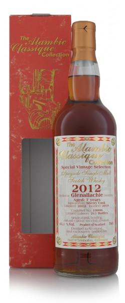 """Glenallachie 2012 Single Malt Whisky """"Sherry Cask"""" Alambic Collection"""