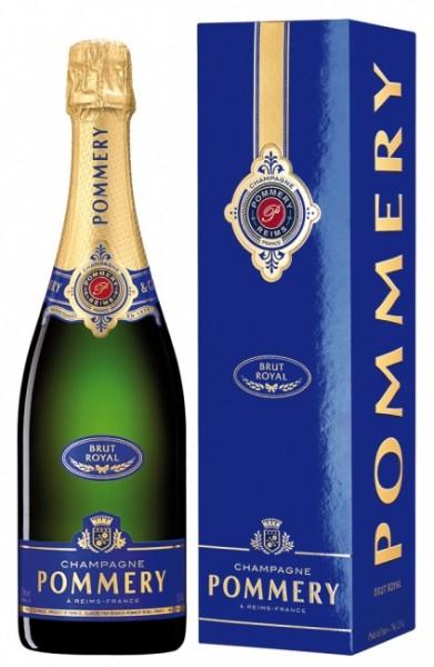Pommery Brut Royal im Geschenkkarton