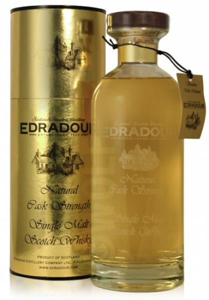 "Edradour ""Natural Cask Strength"" Bourbon Cask (Goldene Dose)"
