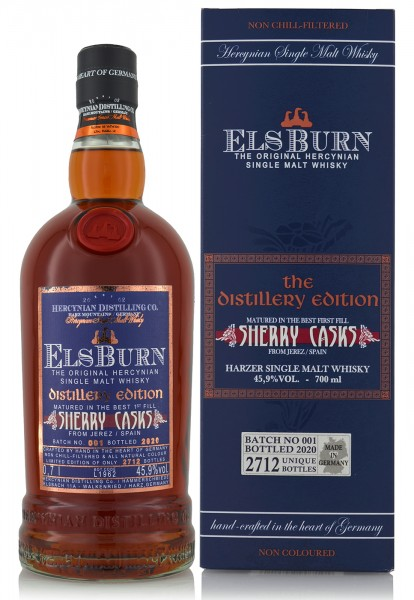 Els Burn Sherry Cask Distillery Edition 2020