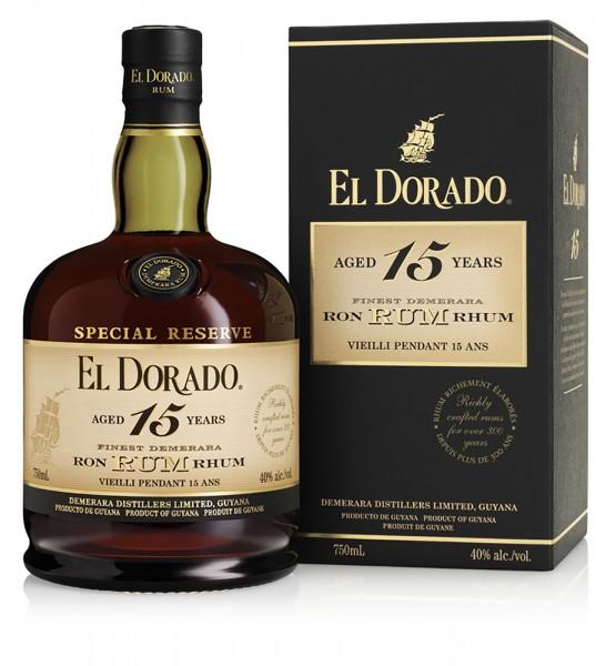 El Dorado Rum Special Reserve 15 Jahre