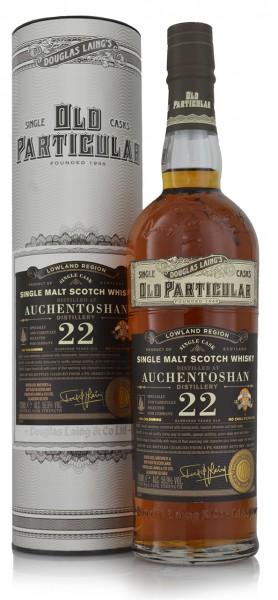 Auchentoshan PX 22 Jahre Douglas Laing Old Particular
