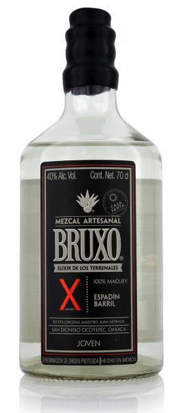 Bruxo X Mezcal Espadin Barril,Joven