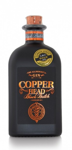 Copper Head The Alchemist's Gin Black Batch