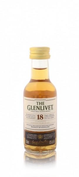 Glenlivet 18 Jahre Miniatur