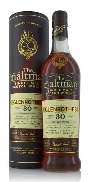 Meadowside Blending Glenrothes 30 Jahre 1990 The Maltman