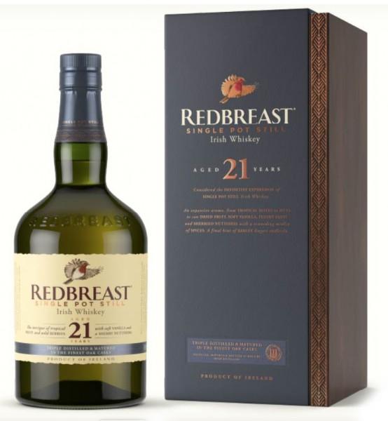 Redbreast Single Pot Stil Irish Whiskey 21 Jahre 2021