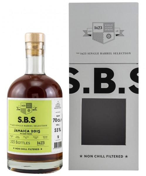 S.B.S Jamaica Rum 2015 PX Finish