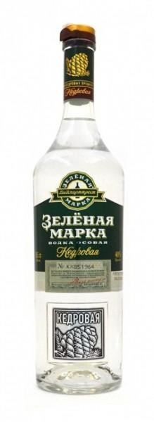 Green Mark Vodka Cedar Nut