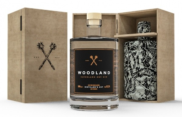 "Woodland Sauerland Gin ""Distiller's Cut"" Navy Strength"