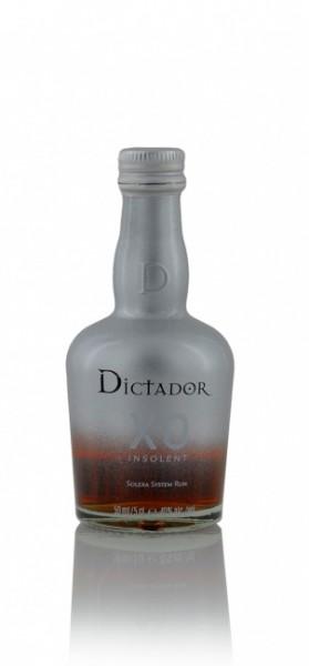 Dictador XO Insolent Columbian Solera Rum Miniatur