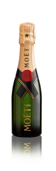 Moët & Chandon Mini Brut Impérial Champagner Quarter