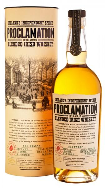 Proclamation Blended Irish Whiskey