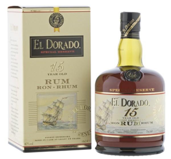 El Dorado Special Reserve 15 Jahre
