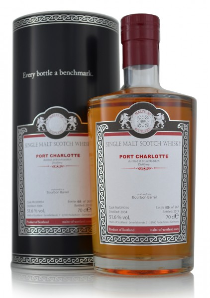 Port Charlotte 2004 Single Malt Whisky Malt of Scotland