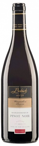 Babich Pinot Noir Winemakers Reserve 2014
