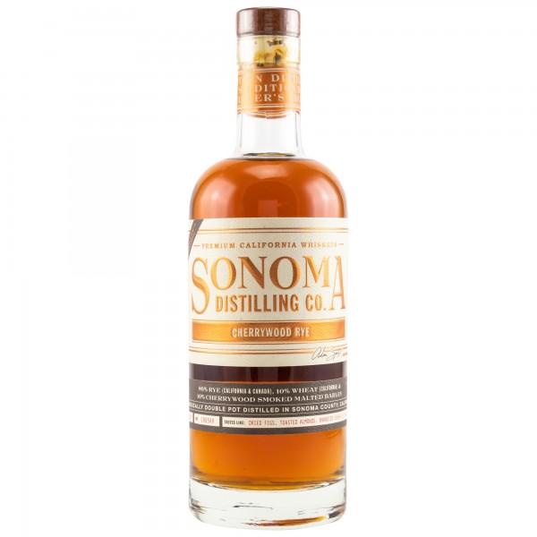 Sonoma County Cherrywood Rye Whiskey