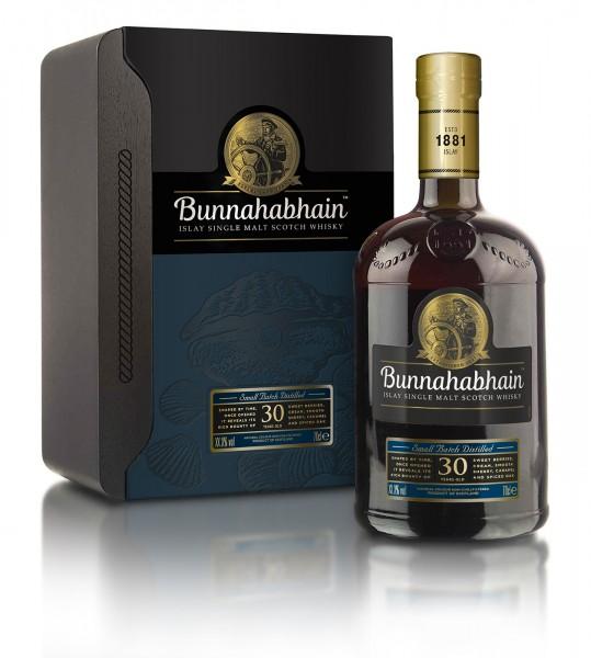 Bunnahabhain Single Malt Whisky 30 Jahre