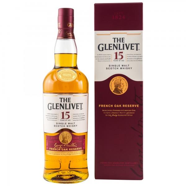 Glenlivet Single Malt Whisky 15 Jahre French Oak Reserve