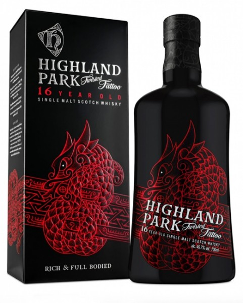 "Highland Park 16 Jahre ""Twisted Tattoo"""