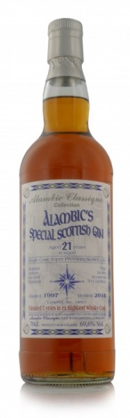"Alambic's Special Scottish Gin ""Highland Whisky Cask"""