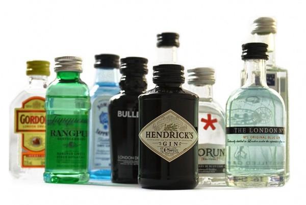 """Gin Miniaturen Set """"UK"""""""