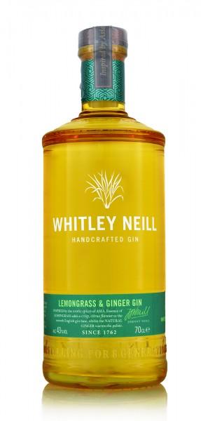 Whitley Neill Lemongrass & Ginger Gin