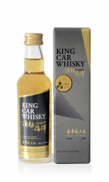 King Car Single Malt Whisky Miniatur