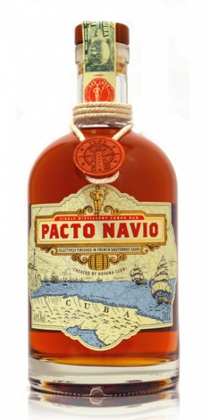Pacto Navio Single Distilled Cuban Rum