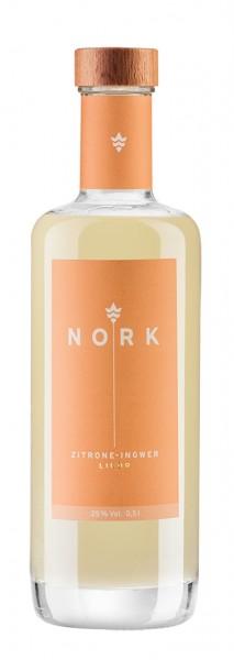 Nork Zitrone-Ingwer Likör