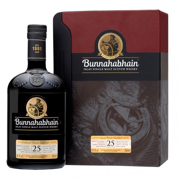 Bunnahabhain Single Malt Whisky 25 Jahre