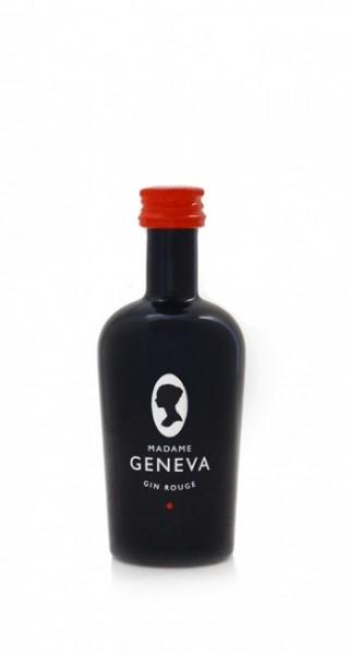 Madame Geneva Gin Rouge Miniatur