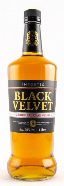 Black Velvet Blended Canadian Whiskey (1 x 1 l)